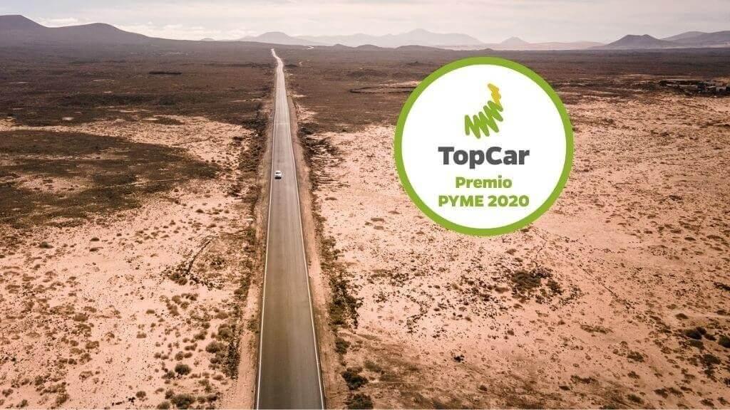 TopCar prix de la meilleure PME de l´année 2020